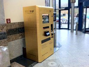 Goud pinnen in Duitsland ATM