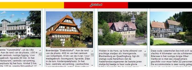 5 - Banner Duitsland vakwerkboerderij - toren - kasteel bijzondere overnachtingen met vlag 2