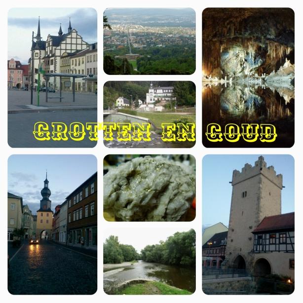 Grotten en goud in Thüringen Duitsland