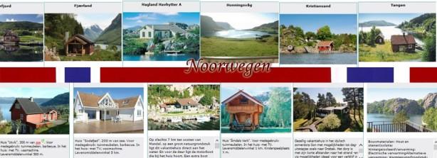Bijzondere huisjes in Noorwegen