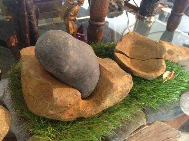 preshistorie potten archeologie maalsteen vijzel