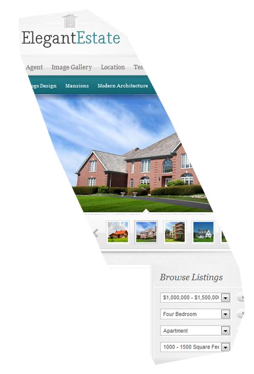 Elegant Estate wordpress makelaar new banner 3