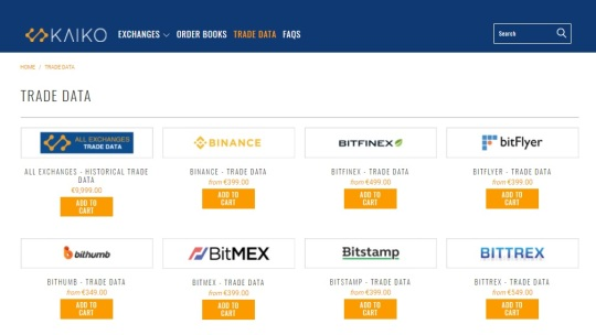 Kaiko trade data cryptocurrencies invest coin